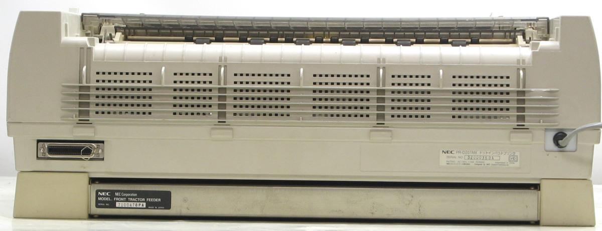L-327/NEC MultiImpact PR-D201MX■ドットインパクトプリンター複写伝票に#1