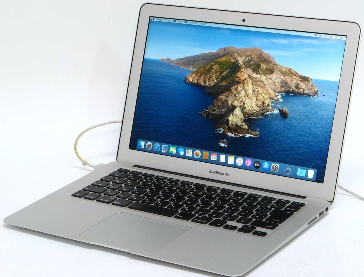 M-2580/Apple MacBook Air MD231J/A 13-inch Mid 2012 Corei5 メモリ 4GB SSD 128GB MacOS 10.5.7 中古 Macintosh ノートパソコン #1