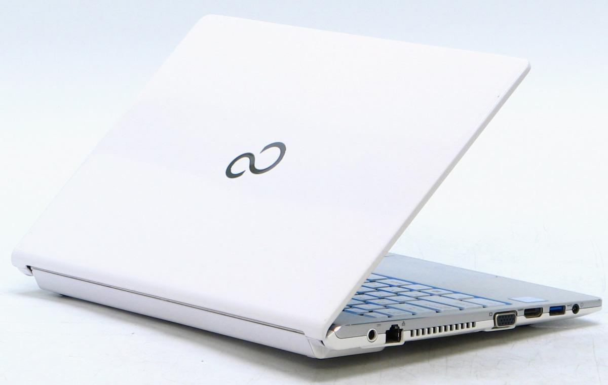 A2-9235/富士通 Lifebook WS1/W FMVWWS17 Corei5 メモリ 8G SSD 256G Windows 10 中古 ノートパソコン #1