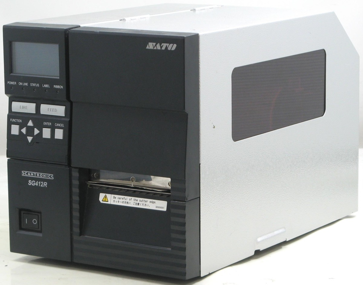 L-317/SATO スキャントロニクス SG412R■ラベルプリンター#1