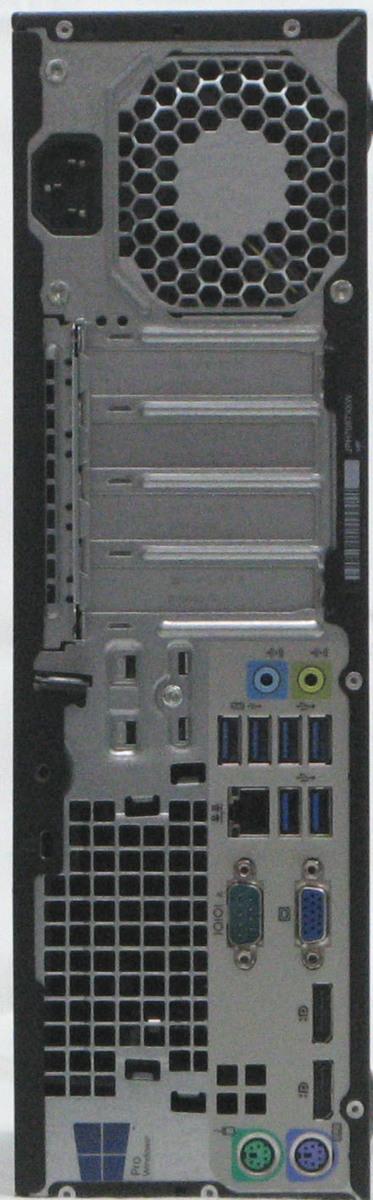 B5-5031/HP EliteDesk 800 G2-6700SFF Corei7-6700 メモリ4G HDD 500G Windows 10 中古 デスクトップパソコン