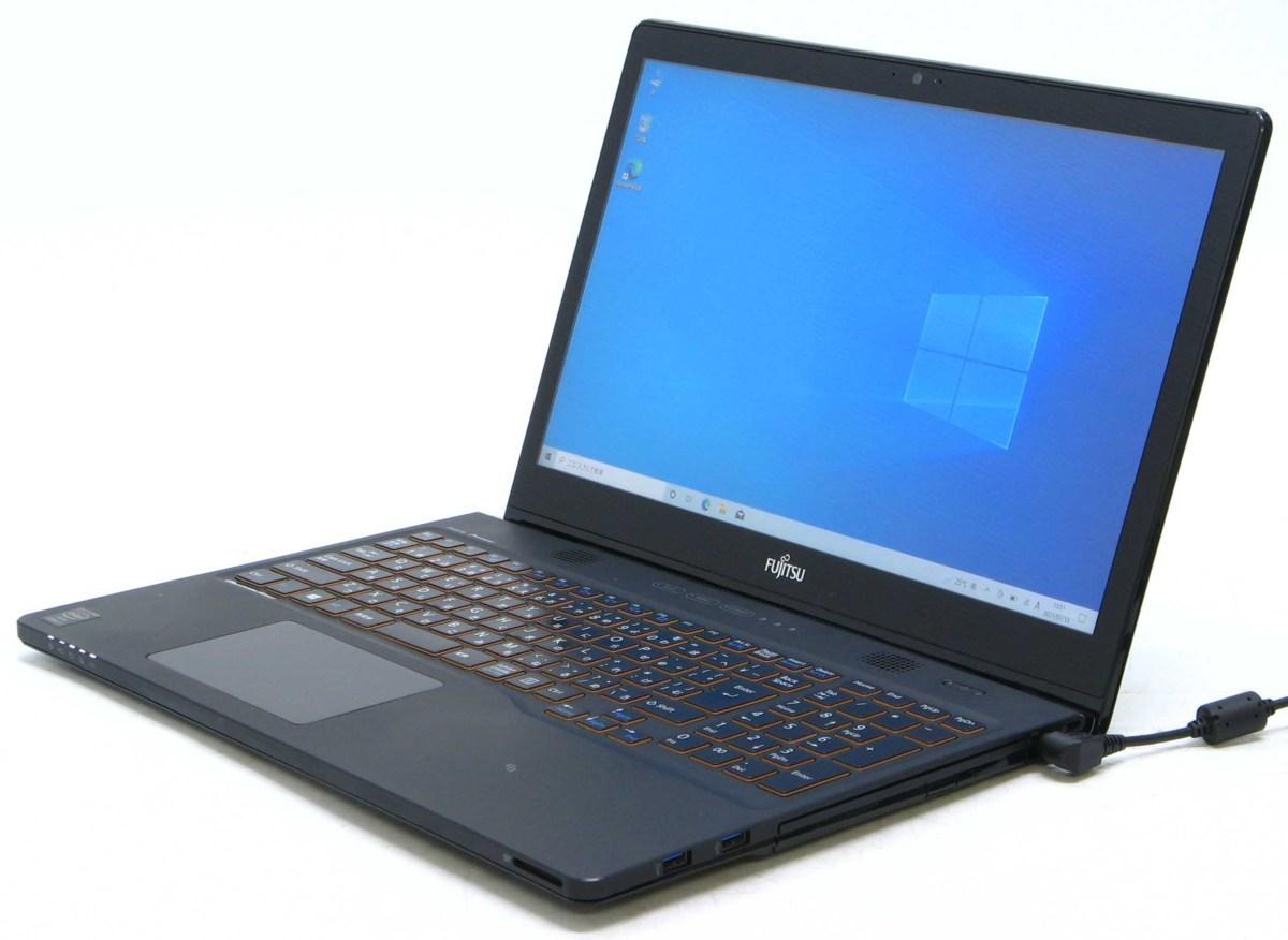 A2-9199/富士通 Lifebook AH77/R FMVA77RBZ Corei7 メモリ 8G HDD 1TB Windows 10 中古 ノートパソコン #1