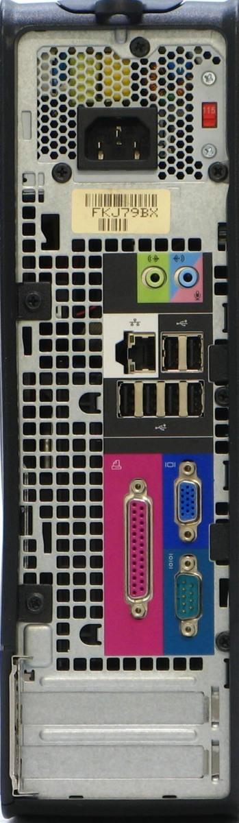 B5-5870/ DELL Optiplex 745-E4300SF  メモリ 2GB HDD 500GB Windows XP 中古 デスクトップ