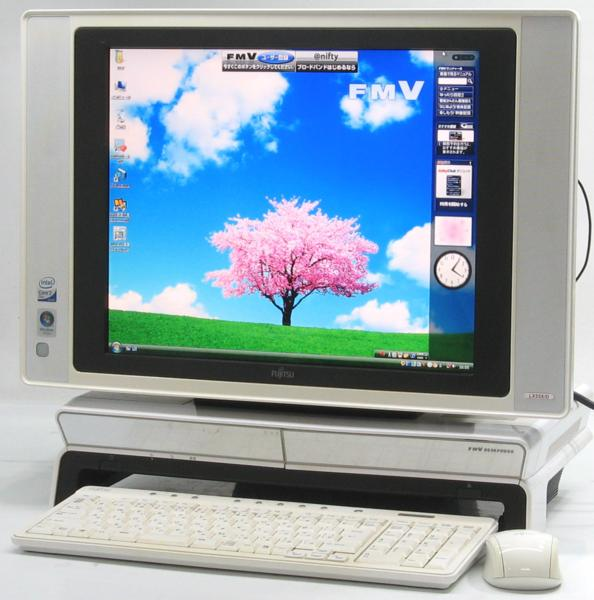 B4-2625/富士通 FMV DESKPOWER LX55X/D 地デジTV17液晶一体型  WindowsVista