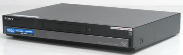 QB-7/SONY BDZ-RX50■HDD500GB/ブルーレイディスク・DVDレコーダー