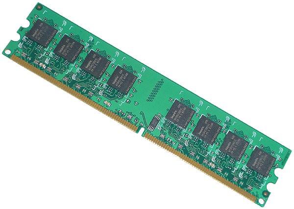E-18/【デスクトップパソコン用メモリ】PC2-5200 DDR2 CL4 nonECC 512MB