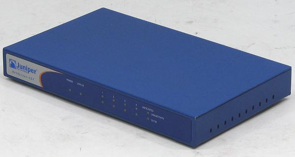 X-186/Juniper NetScreen-5GT■ファイアウォール/IPsec-VPN