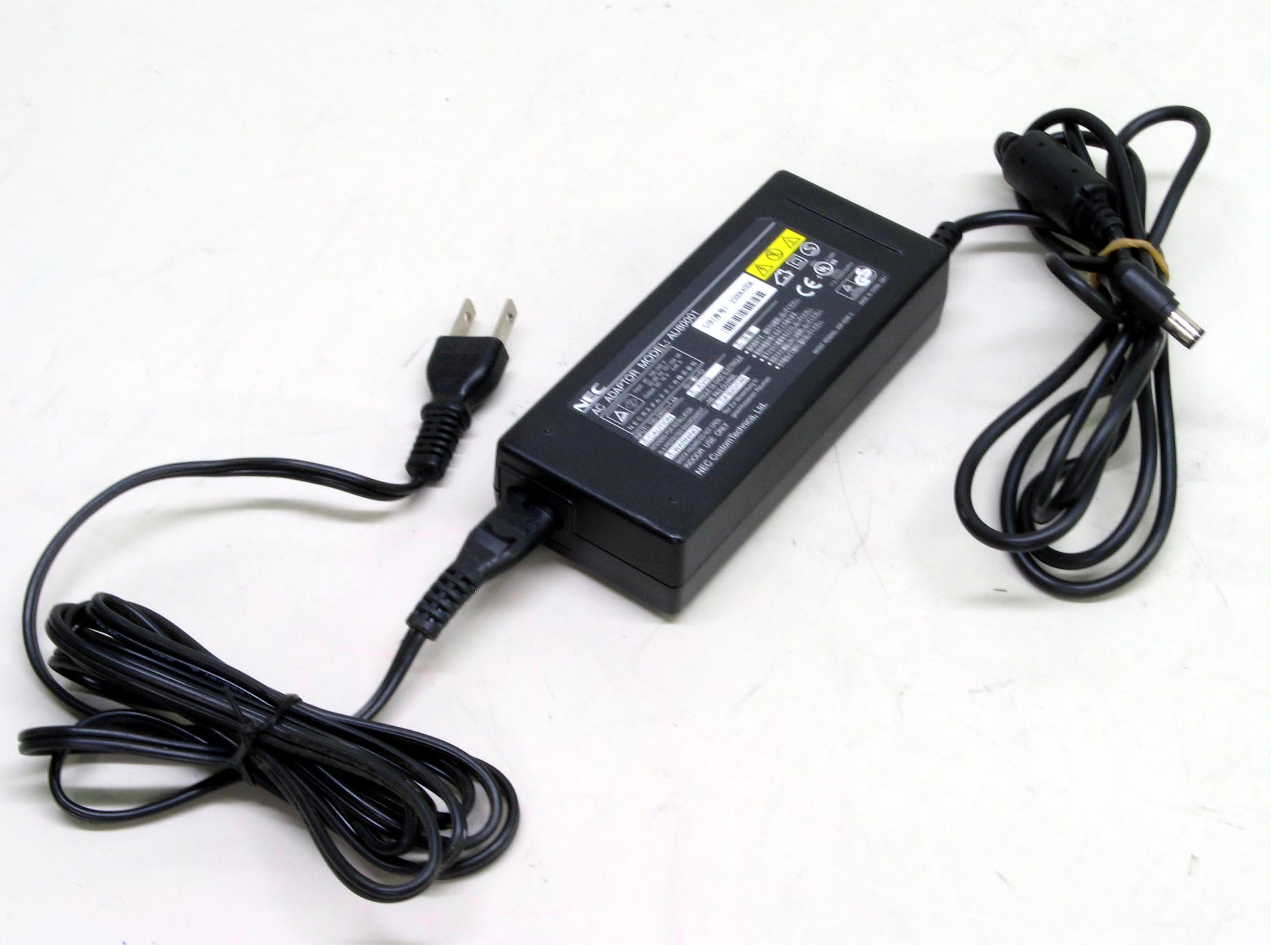N-4/NEC ノートPC用ACアダプタ ADP-90AB(AU80001)  18V/4.44A 電源コード付