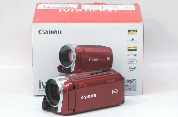 QV-4/CANON iVIS HF R31(レッド)■デジタルHDビデオカメラレコーダー