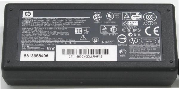 N-10/HP PPP009L■18.5V-3.5A/65W/純正ACアダプター
