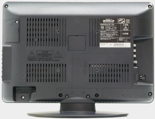 QT-64/WORLD KS1611B ■16インチ地デジ液晶テレビ■#1【中古 液晶テレビ】