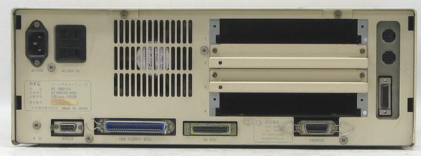 I-17/NEC PC-9801VX■8MHz/10MHz/640KB/5インチFDDx2