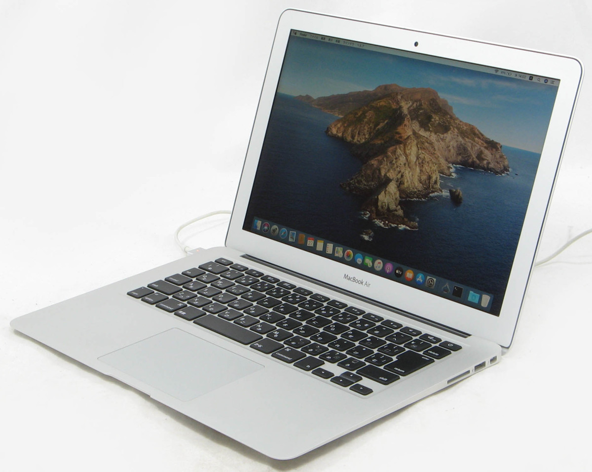MacBook Air MD231J/A 13-inch Mid 2012 Corei5 メモリ 4GB SSD 128GB OS10.15.7