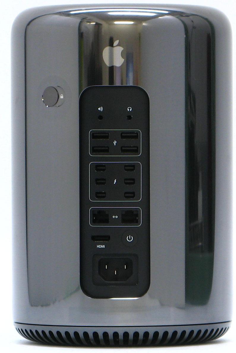 C-2129/Apple Mac Pro ME253J/A Late 2013 メモリ 32G SSD 256G OS11.4 中古 Macintosh