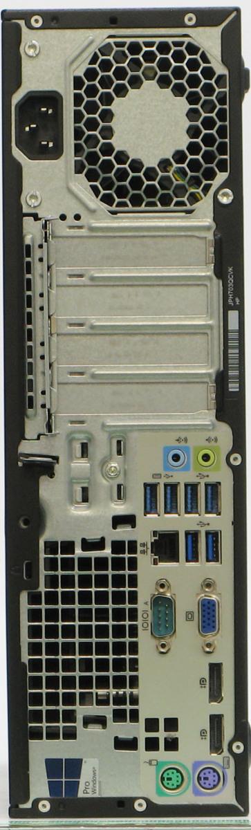 B5-5849/HP EliteDesk 800 G2 SFF-6700 20インチW 液晶セット Corei7 第6世代 メモリ 8G HDD 500G Windows 10 中古 デスクトップ