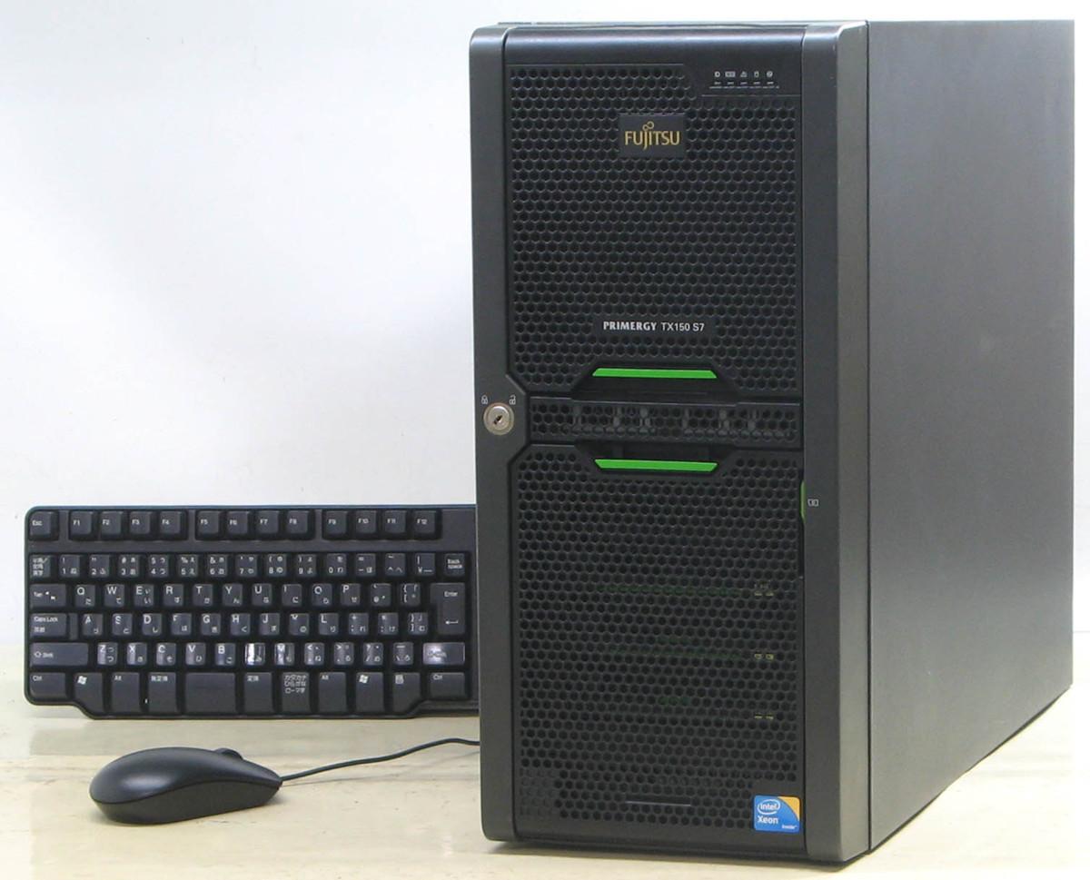 F-486/富士通 Primergy TX150 S7 PGT1574H63 Windows 2008 サーバー