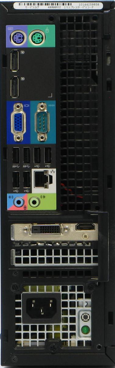 B5-5891/DELL Precision T1700-4770SF Corei7 メモリ 8GB HDD 500GB 新品GeForce GT1030  Windows10 中古ゲーミングPC