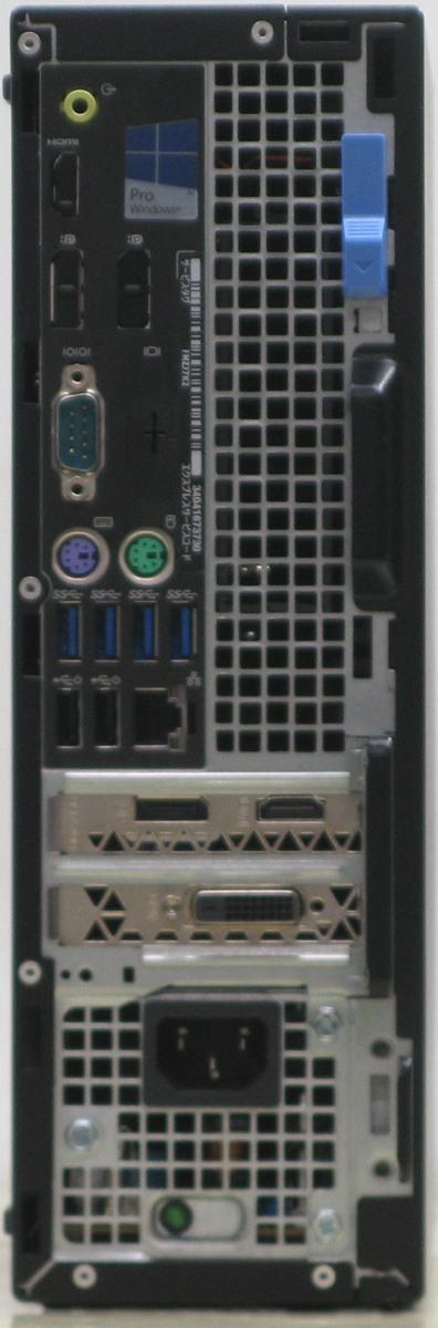 B5-3991/DELL 【新品SSD500GB】 Optiplex 7050-6700SF■24液晶セット 第6世代 Corei7 【HDMI出力端子】 【ゲーミングPC】 新品GeForce GTX1650