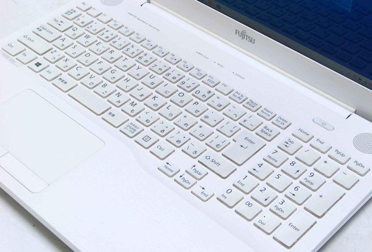 A2-9212/富士通 Lifebook AH50/X FMVA50XWP Corei7 第6世代 メモリ 4G HDD 1TB Windows 10 中古 ノートパソコン #10