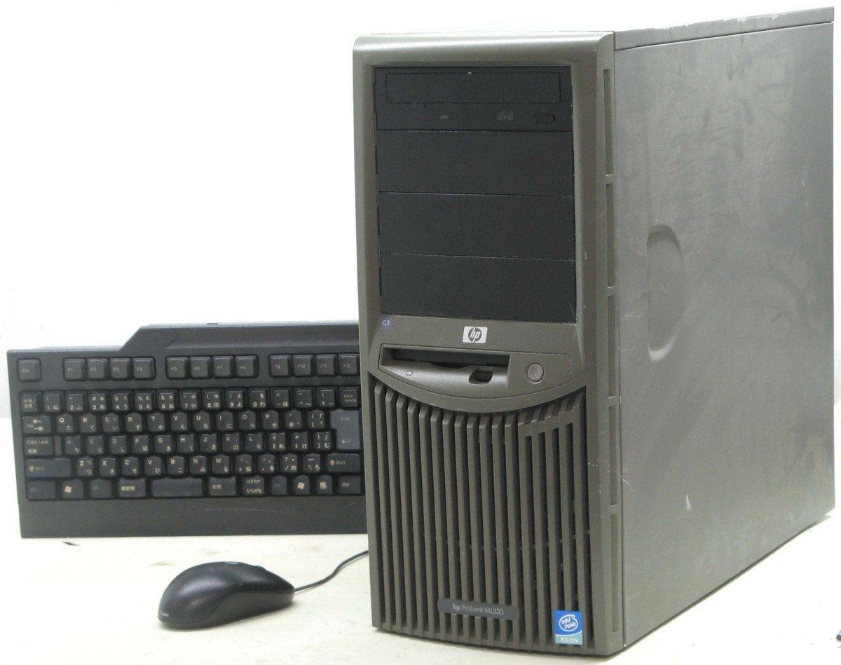 F-474/HP Proliant ML330 【中古サーバー】