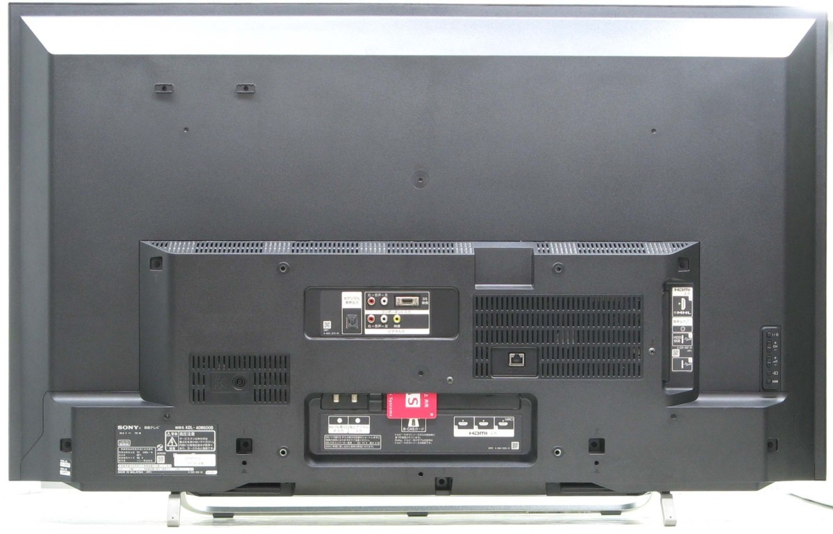 QT-85/SONY KDL-40W600B■40インチ地デジ液晶テレビ■#1