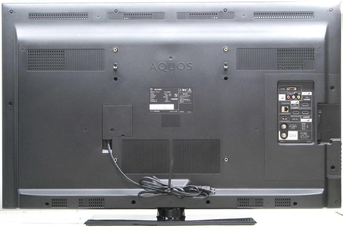 QT-87/SHARP AQUOS LC-40H9■40インチ地デジ液晶テレビ■#1