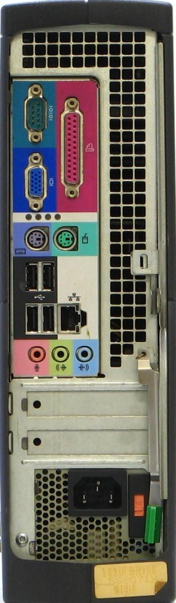 B5-5923/DELL Optiplex GX260-P2400SF メモリ 1G HDD 40G Windows 2000 中古 デスクトップ