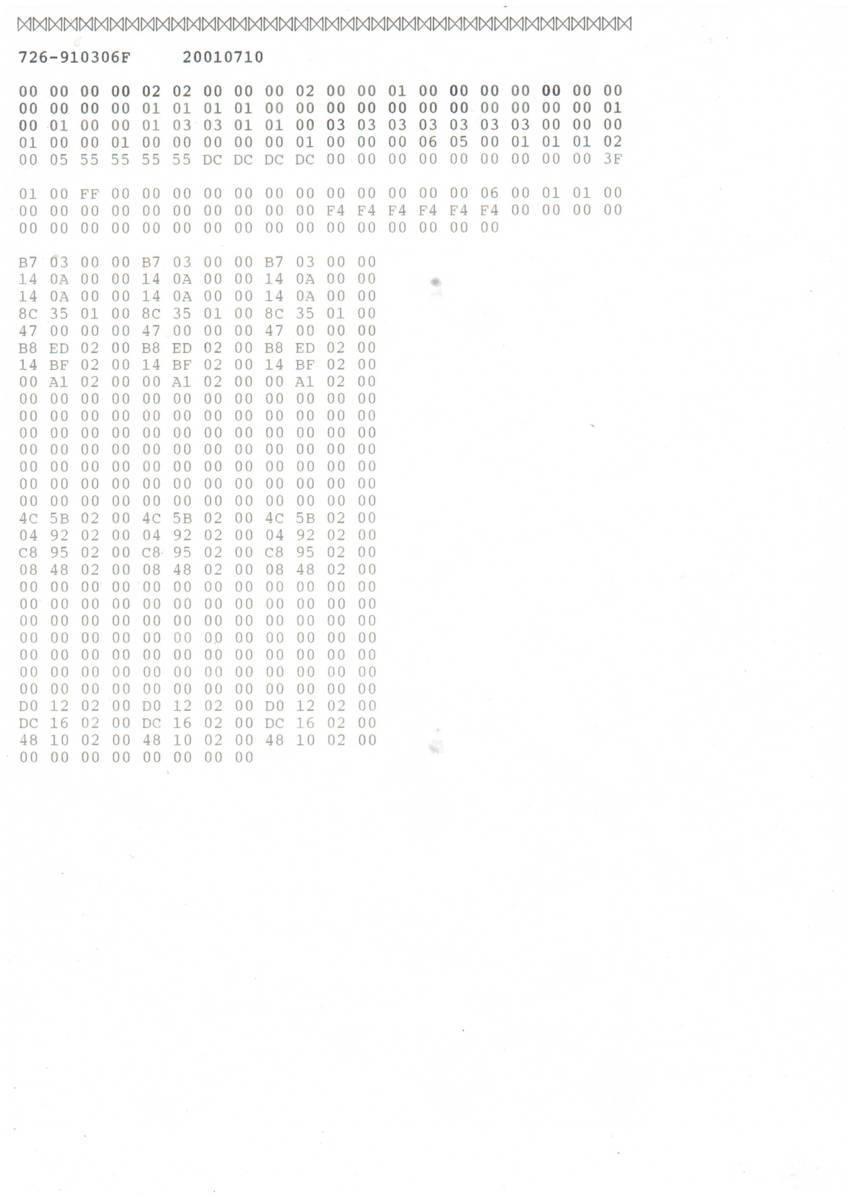 L-321/富士通 M33321C■ドットインパクトプリンター#1