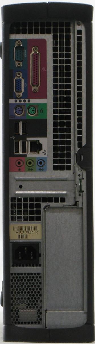 B5-5519/DELL Optiplex 170L-C2800DT Windows XP シリアル パラレル 中古デスクトップパソコン 希少品