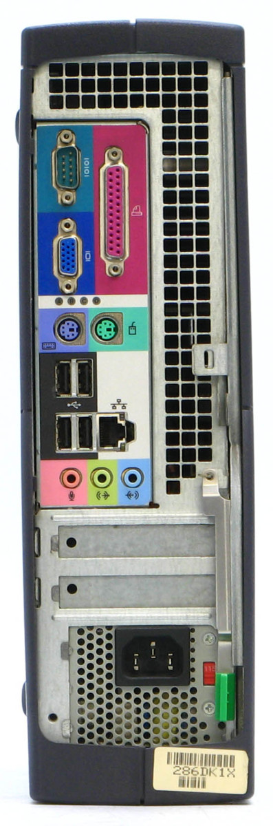 B5-5868/ DELL Optiplex GX60-C2400SF メモリ 1GB HDD 120GB Windows XP 中古 デスクトップ