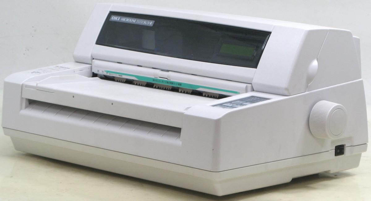 L-345/OKI MICROLINE 5650SU3-R■A3ドットインパクトプリンター#1