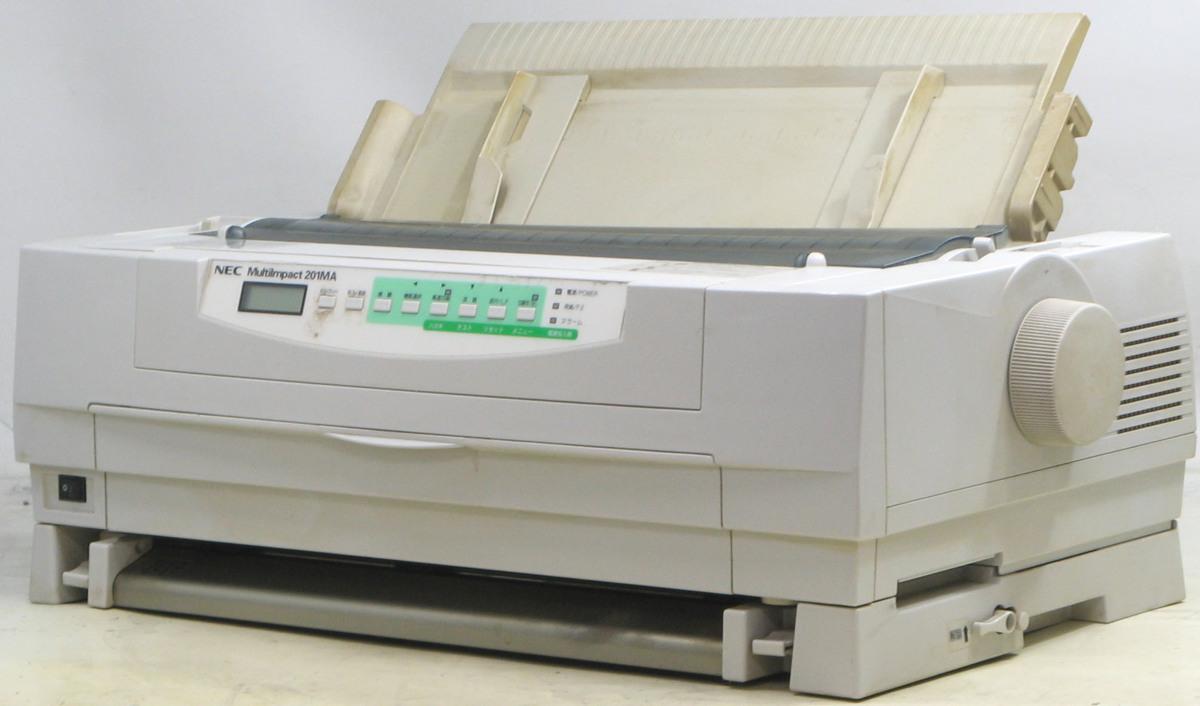 L-348/NEC MultiImpact PR-D201MA■ドットインパクトプリンター#1