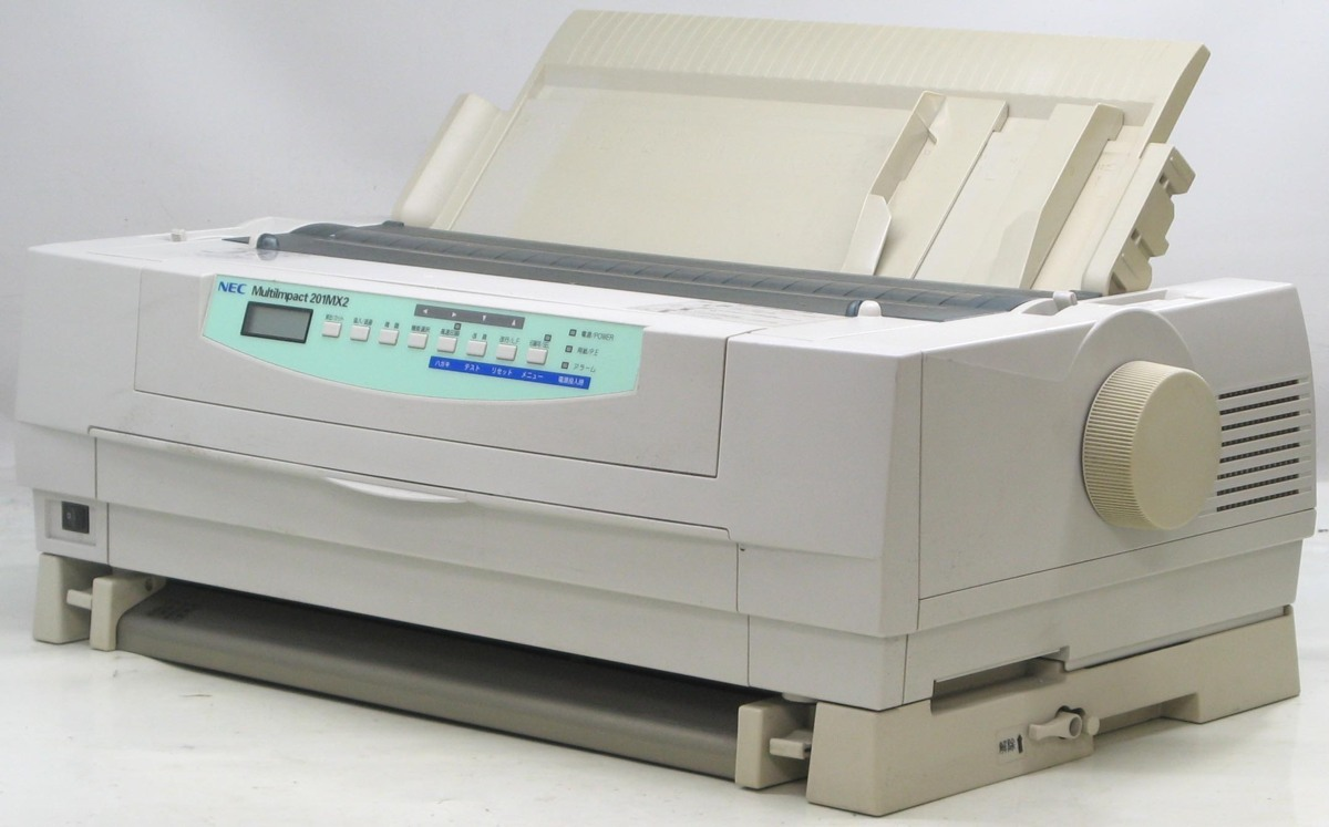 L-349/NEC MultiImpact PR-D201MX2■ドットインパクトプリンター#1複写伝票に