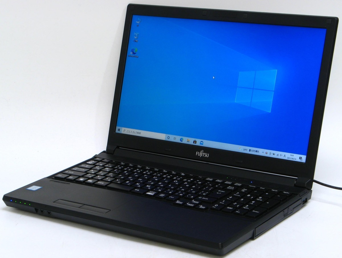 A2-9225/富士通 Lifebook A576/R FMVA20004 Corei5 第6世代 メモリ 4GB HDD 500GB  Windows 10 中古 ノートパソコン #10