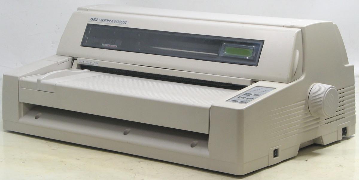 L-353/OKI microline 8480SU2■ドットインパクトプリンター#1