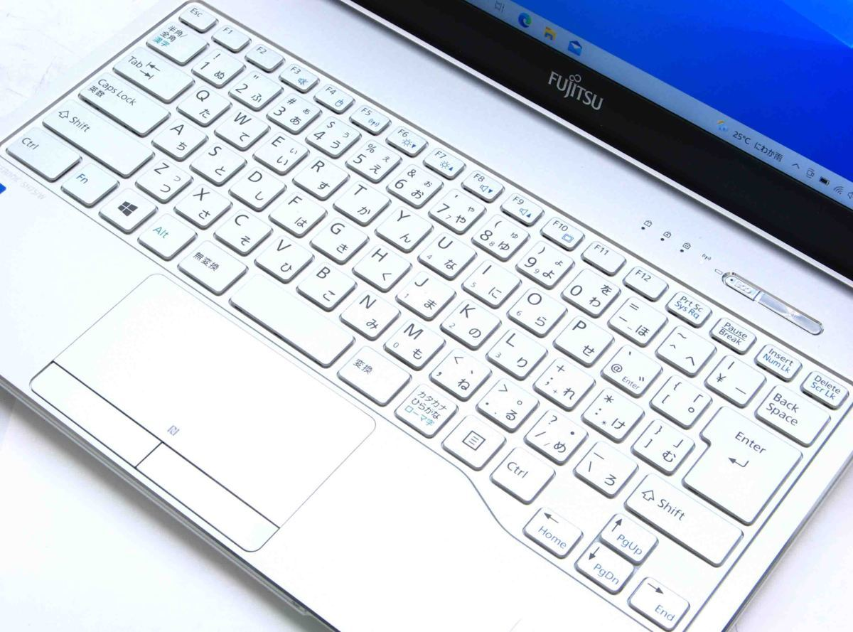 A2-9187/富士通 LIFEBOOK SH75/W FMVA75WWP  Corei5 第6世代 メモリ 4GB HDD 500GB Windows 10 中古 ノートパソコン #1