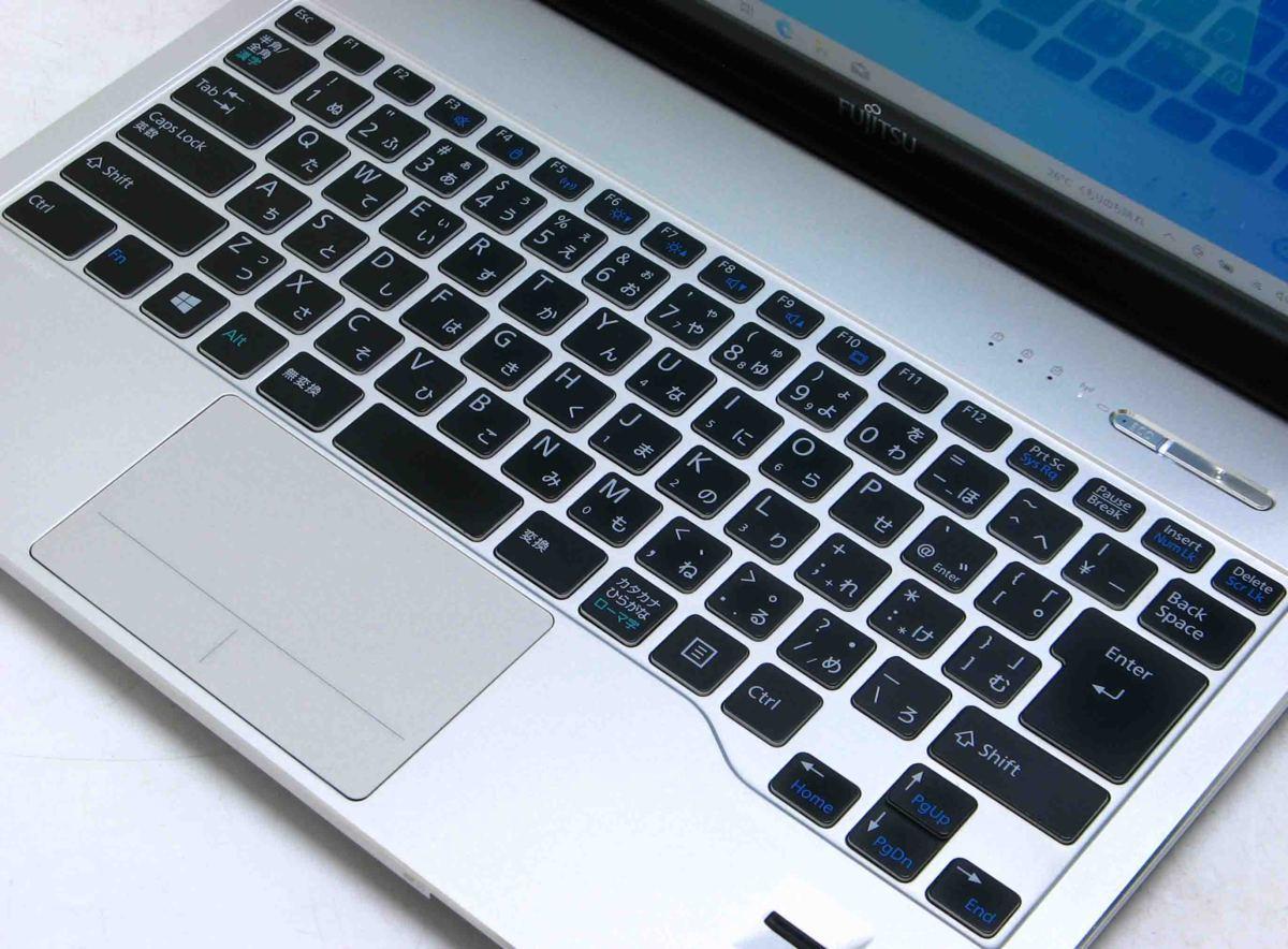 A2-9127/富士通 Lifebook SH90/M FMVS90MB Corei5 メモリ 4GB HDD 500GB Windows 10 中古 ノートパソコン #1