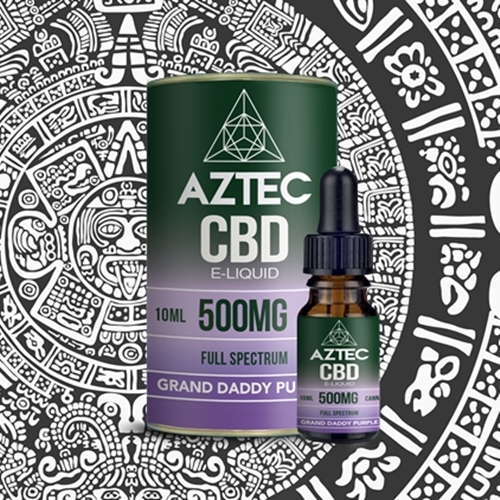 AZTEC (アステカ) E-LIQUID FULL SPECTRUM CBD 5% (500mg) 10ml