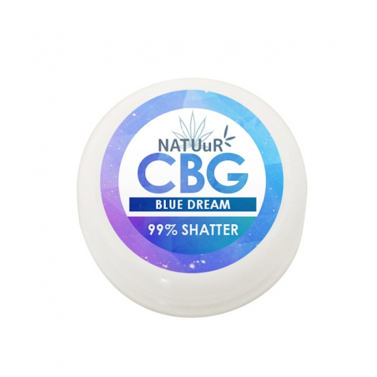 NATUuR CBGワックス  濃度99%/990mg +テルペン|高濃度 Terpesolate CBG WAX