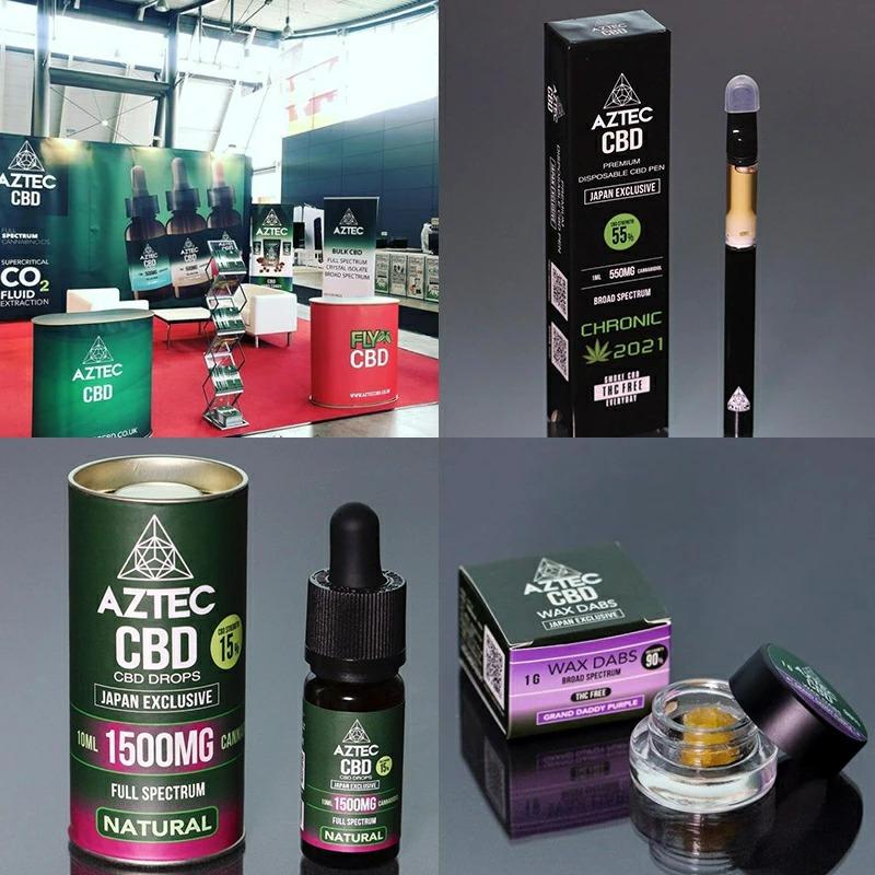 CBD PEN/55%(550mg)アステカブロードスペクトラムペン 1.0ml /AZTEC PEN
