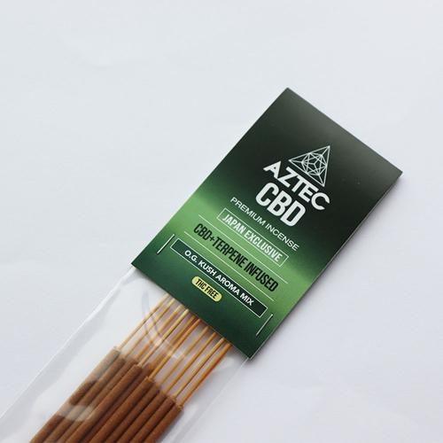 AZTEC CBD プレミアムインセンス(お香)/10本入り