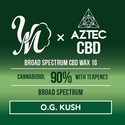 airis mystica2 + AZTEC & VapeMania CBDワックス 和み -Nagomi- ブロードスペクトラム 濃度90%/900mg |高濃度 Broadspectrum CBD WAX Wネーム デバイスセット