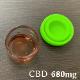 airis doo with Quaser アトマイザー + PharmaHemp CBD JELL WAX PHEC68 CBD680mg/1000mg + Quaser コイル セット