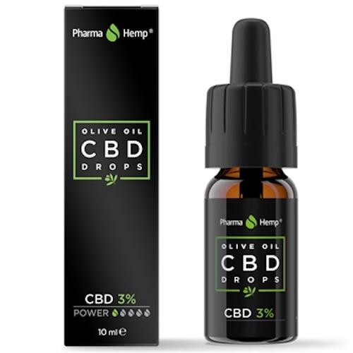 Pharma Hemp CBDオイル フルスペクトラム 3% 300mg 10ml OLIVE OIL Original Series 非加熱タイプ | Fullspectrum CBD Oil Unheated
