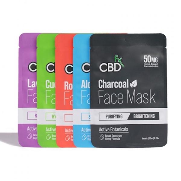 CBDfx CBDコスメ  CBDフェイスマスク 50mg |  CBDFACEMASK