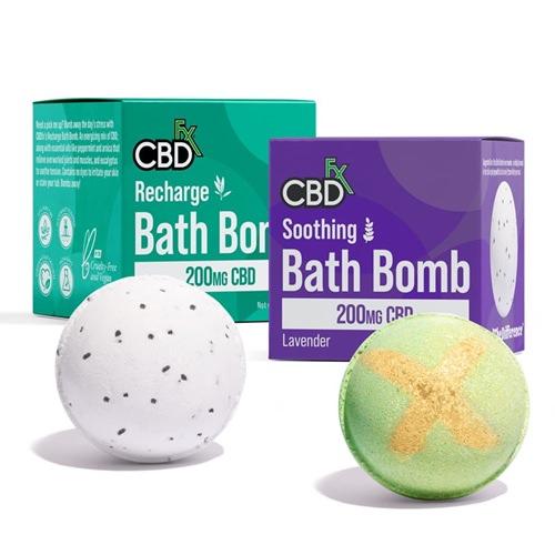 CBDfx CBDバスボム 200mg | CBDfx CBD Bath Bomb