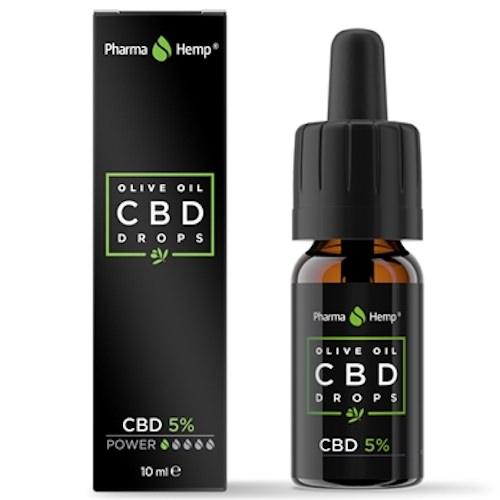 Pharma Hemp CBDオイル フルスペクトラム 5% 500mg 10ml OLIVE OIL Original Series 非加熱タイプ   Fullspectrum CBD Oil Unheated