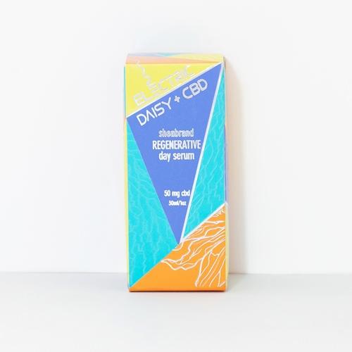 Sheabrand  CBDコスメ スキンケア CBDセラム 50mg 28g(1oz) Electric Daisy | CBD Regenerative Day Serum