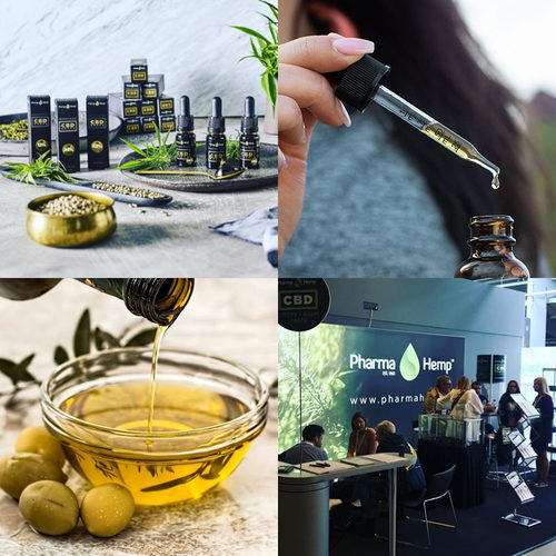 Pharma Hemp CBDオイル フルスペクトラム 6.6% 660mg 10ml OLIVE OIL   Fullspectrum PREMIUM BLACK CBD Oil