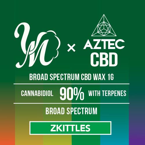 airis Quaser +AZTEC & VapeMania CBDワックス 和み -Nagomi- ブロードスペクトラム 濃度90%/900mg  高濃度 Broadspectrum CBD WAX Wネーム デバイスセット
